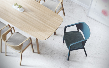 Press kit | 2427-01 - Press release | Beams Chair - EAJY DESIGN GmbH - Product - Beams Chair  - Photo credit: EAJY DESIGN GmbH