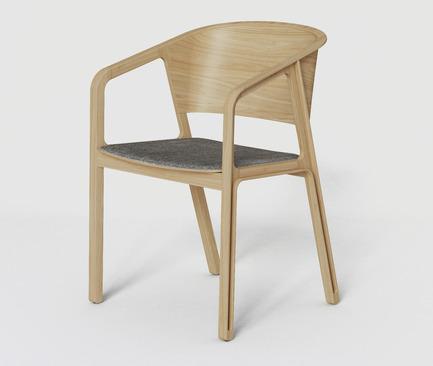 Press kit | 2427-01 - Press release | Beams Chair - EAJY DESIGN GmbH - Product - Nature Beams Chair - Photo credit: EAJY DESIGN GmbH
