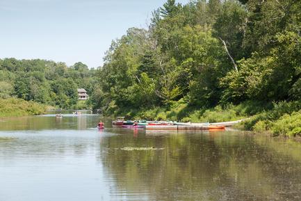 Dossier de presse | 2647-01 - Communiqué de presse | Reinventing our Rivers: Call for Ideas - The City of Québec - Competition - Montmorency river - Crédit photo : The City of Québec