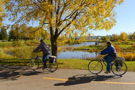 Dossier de presse | 2647-01 - Communiqué de presse | Reinventing our Rivers: Call for Ideas - The City of Québec - Competition - Saint-Charles river - Crédit photo : The City of Québec