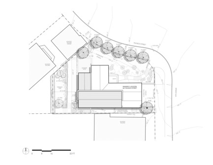 Press kit | 2601-01 - Press release | A-to-Z House - SAW // Spiegel Aihara Workshop - Residential Architecture - Site Plan - Photo credit: SAW