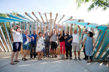 Press kit | 2664-01 - Press release | La Vague - Arcadia Studio - Urban Design - Let's do the wave! - Photo credit: Alexandre Guilbeault