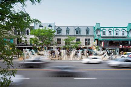 Dossier de presse | 2664-01 - Communiqué de presse | La Vague - Arcadia Studio - Design urbain - Crédit photo : Alexandre Guilbeault