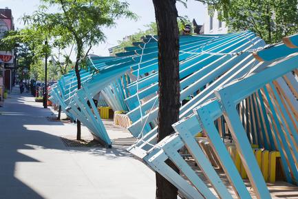 Dossier de presse | 2664-01 - Communiqué de presse | La Vague - Arcadia Studio - Design urbain - APRÈS - Crédit photo : Alexandre Guilbeault