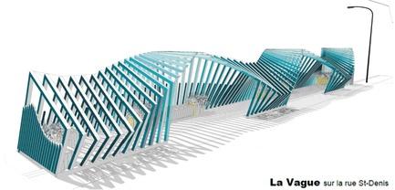 Dossier de presse | 2664-01 - Communiqué de presse | La Vague - Arcadia Studio - Design urbain - Modèle SketchUp - Crédit photo : Camille Zaroubi
