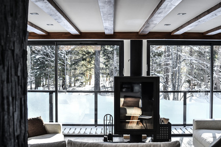 Press kit | 1682-04 - Press release | Chalet Whymper - Chevallier Architectes - Residential Architecture - Chalet WHYMPER, Chamonix by Chevallier Architectes - Photo credit: Solène Renaud pour Chevallier Architectes