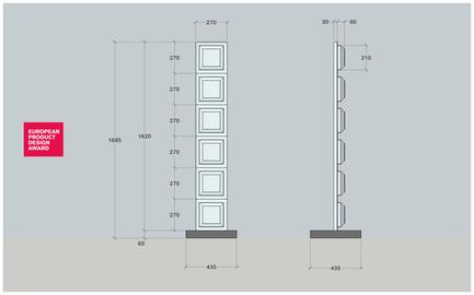 Press kit | 2437-01 - Press release | The Chocolate Lamp - Pelo HD - Industrial Design - Chocolate lamp dimensions - Photo credit: Pelo HD Design Studio