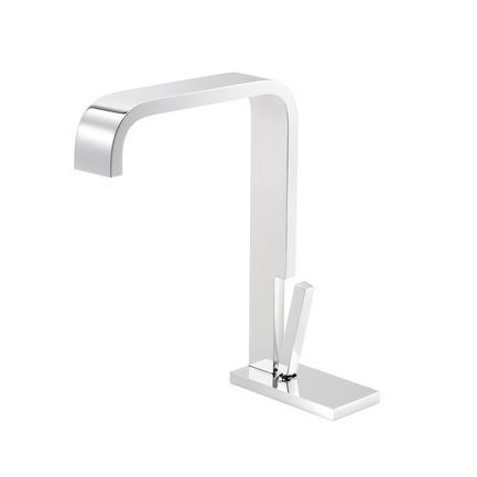 Press kit | 2505-01 - Press release | Innovative Belgian Faucet Design - Co.Studio - Product - Bathroom faucet <br> - Photo credit: Bernard Gauthier<br>