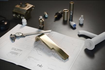 Press kit | 2505-01 - Press release | Innovative Belgian Faucet Design - Co.Studio - Product - Work in progress<br> - Photo credit: Serge Brison<br>