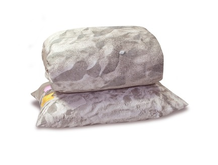 Press kit   2502-01 - Press release   Augmented Reality Bed Sheets - Hayka - Product - Beach sand bed linen packshot - single set - Photo credit: Hayka