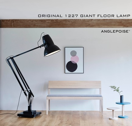 Press kit | 1152-09 - Press release | New Offices for Vigilant Global:  Refined and Modern - LumiGroup - Lighting Design - Original 1227 Giant - Photo credit: Anglepoise