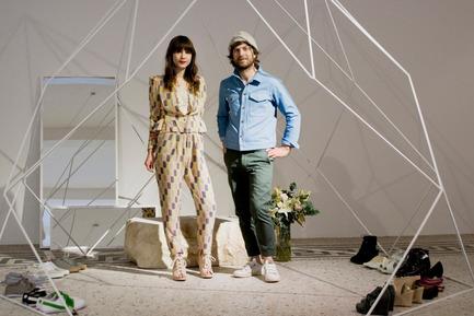 Dossier de presse | 679-05 - Communiqué de presse | Appel à projetsCommerce Design Brussels Award 2013 - Commerce Design Brussels - Concours - Gagnant de 2011 - Aude Gribomont & Niels Radtke
