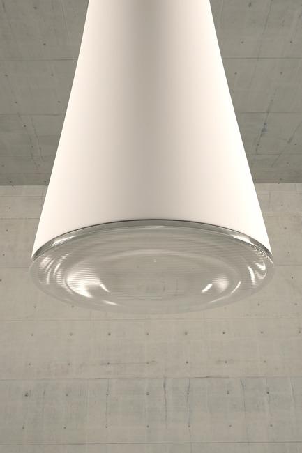 Press kit | 2507-01 - Press release | tuBI' - A Smart Chandelier - Concepticon Studio - Industrial Design -  tuBI' detail  - Photo credit:  Concepticon Studio
