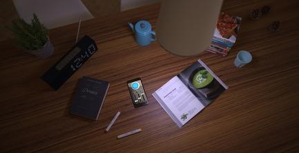 Dossier de presse | 2507-01 - Communiqué de presse | tuBI' - A Smart Chandelier - Concepticon Studio - Design industriel -  tuBI' App  - Crédit photo : Concepticon Studio