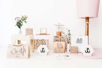 Dossier de presse | 2498-01 - Communiqué de presse | Small Studio With Great Love For Design - –Love, Ana. design studio - Lifestyle - Packaging details - Crédit photo : Mateja Vrckovic