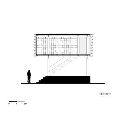 Dossier de presse | 2560-01 - Communiqué de presse | 'Microlibrary Bima': 2000-Ice-Cream-Bucket-Project - SHAU - Institutional Architecture - Section of Microlibrary Bima - Crédit photo : SHAU