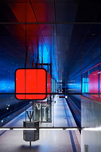 Dossier de presse | 809-08 - Communiqué de presse | Azure announces the finalists of the third Annual Az Awards - Azure Magazine - Concours - HafenCity University Subway Stationby Pfarre Lighting Design, Raupach Architekten, Design Stauss Grillmeier