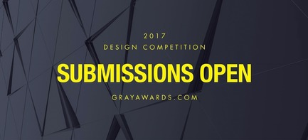 Press kit | 2637-01 - Press release | GRAY Awards Final Call for Entries - GRAY Magazine - Competition - GRAY Awards Final Call for Entries - Photo credit: GRAY