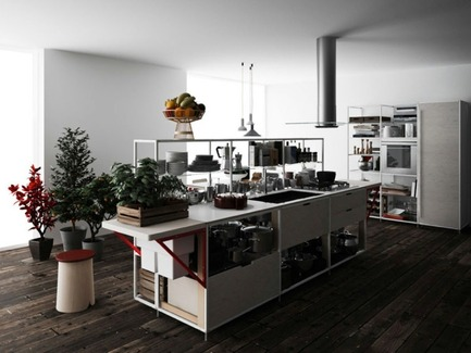 Dossier de presse | 809-08 - Communiqué de presse | Azure announces the finalists of the third Annual Az Awards - Azure Magazine - Concours - Meccanica Kitchenby Gabriele CentazzoDemode Engineered by Valcucine