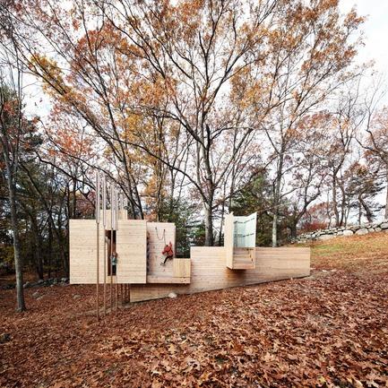 Dossier de presse | 809-21 - Communiqué de presse | AZURE Reveals the Winners of the 2017 AZ Awards - AZURE - Competition -  Five Fields Play Structure, Lexington, U.S.<br> Matter Design, Boston, U.S., and FR|SCH Projects, Lexington, U.S.<br>Best Recreational Architecture - 2017 AZ Awards  - Crédit photo : AZURE