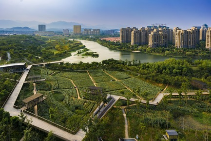 Press kit | 809-21 - Press release | AZURE Reveals the Winners of the 2017 AZ Awards - AZURE - Competition -  Quzhou Luming Park, Beijing, China<br>Turenscape, Beijing, China<br>Best Landscape Architecture - 2017 AZ Awards  - Photo credit: AZURE