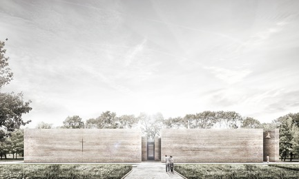 Press kit | 809-21 - Press release | AZURE Reveals the Winners of the 2017 AZ Awards - AZURE - Competition -  A Church for the Local Community,Wrocław, Poland<br>Adamiczka Consulting, Wrocław, Poland<br>Best Unbuilt Concept - 2017 AZ Awards  - Photo credit: AZURE