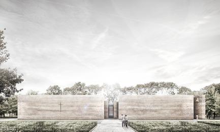 Dossier de presse | 809-21 - Communiqué de presse | AZURE Reveals the Winners of the 2017 AZ Awards - AZURE - Concours -  A Church for the Local Community,&nbsp;Wrocław, Poland<br>Adamiczka Consulting, Wrocław, Poland<br>Best Unbuilt Concept - 2017 AZ Awards  - Crédit photo : AZURE