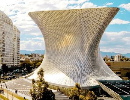 Dossier de presse | 809-08 - Communiqué de presse | Azure announces the finalists of the third Annual Az Awards - Azure Magazine - Concours - Soumaya Museumby FR-EE, Fernando Romero Enterprise