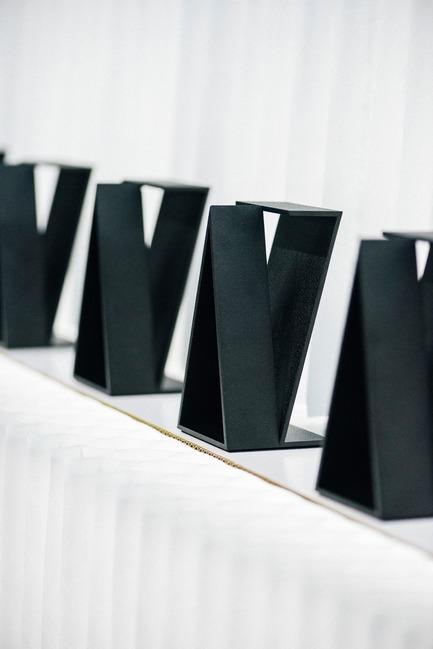 Dossier de presse | 809-21 - Communiqué de presse | AZURE Reveals the Winners of the 2017 AZ Awards - AZURE - Competition - 2017 AZ Awards Trophy designed by Philippe Malouin - Crédit photo : AZURE
