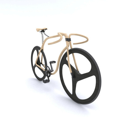 Dossier de presse | 809-08 - Communiqué de presse | Azure announces the finalists of the third Annual Az Awards - Azure Magazine - Concours - Thonet bentwood bikeby Andy Martin Studio