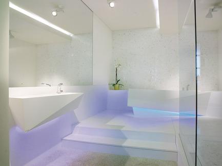 Press kit | 2706-01 - Press release | K-Life - Porcelanosa - Produit - Salle de bain complète en Krion® - Photo credit: Porcelanosa