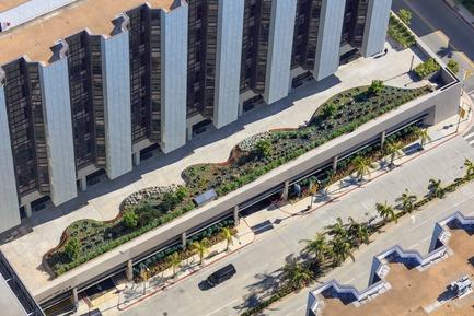 Press kit   2757-01 - Press release   AHBE Landscape Architects Unveils Healing Gardens for Cedars-Sinai Medical Center - AHBE Landscape Architects - Landscape Architecture - Photo credit: @heliphoto.net