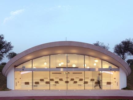Dossier de presse | 2404-02 - Communiqué de presse | Oxygen Park, Education City, Doha - Qatar Foundation, AECOM - Institutional Architecture -  Folly Building  - Crédit photo : Markus Elblaus