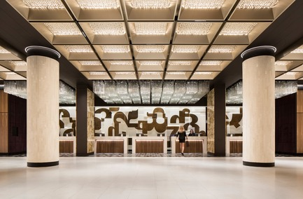 Dossier de presse | 1303-04 - Communiqué de presse | The Transformation of Fairmont The Queen Elizabeth Hotel, as Seen by its Designers - Sid Lee Architecture - Commercial Interior Design - GRAND HALL - Crédit photo :  STÉPHANE BRUGGER