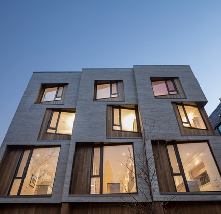 Press kit | 2045-03 - Press release | CORE Modern Homes - Batay-Csorba Architects - Residential Architecture - Front Facade Detail - Photo credit: Doublespace Photography