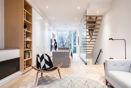 Press kit | 2045-03 - Press release | CORE Modern Homes - Batay-Csorba Architects - Residential Architecture - Doublespace Photography - Photo credit: Living Room