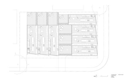 Press kit | 2045-03 - Press release | CORE Modern Homes - Batay-Csorba Architects - Residential Architecture - Second Floor Plan - Photo credit: Batay-Csorba Architects
