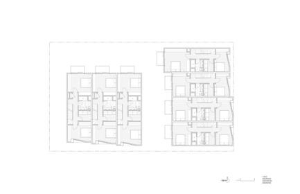 Press kit | 2045-03 - Press release | CORE Modern Homes - Batay-Csorba Architects - Residential Architecture - Forth Floor Plan - Photo credit: Batay-Csorba Architects