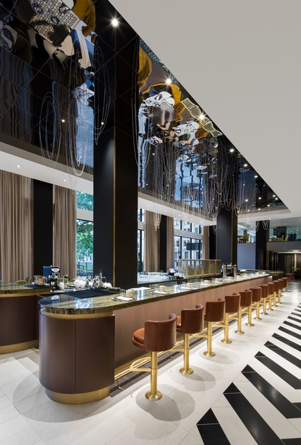 Dossier de presse | 1303-04 - Communiqué de presse | The Transformation of Fairmont The Queen Elizabeth Hotel, as Seen by its Designers - Sid Lee Architecture - Commercial Interior Design -  ROSÉLYS RESTAURANT  - Crédit photo : STÉPHANE BRUGGER
