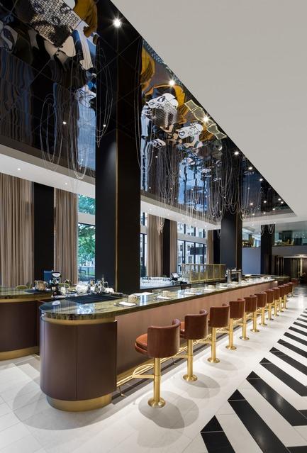 Dossier de presse | 1303-04 - Communiqué de presse | The Transformation of Fairmont The Queen Elizabeth Hotel, as Seen by its Designers - Sid Lee Architecture - Design d'intérieur commercial -  RESTAURANT ROSÉLYS  - Crédit photo : STÉPHANE BRUGGER