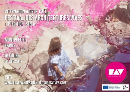 Dossier de presse | 982-38 - Communiqué de presse | Open Call - FAV 2018 - Association Champ Libre - Festival des Architectures Vives (FAV) - Competition - Open Call - FAV 2018  - Crédit photo : (c)festivaldesarchitecturesvives/photoarchitecture.com