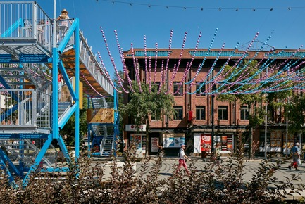 Dossier de presse | 1102-03 - Communiqué de presse | FunambOule - Architecturama - Design urbain - FunambOule, Montreal (Canada) - Crédit photo : James Brittain Photography