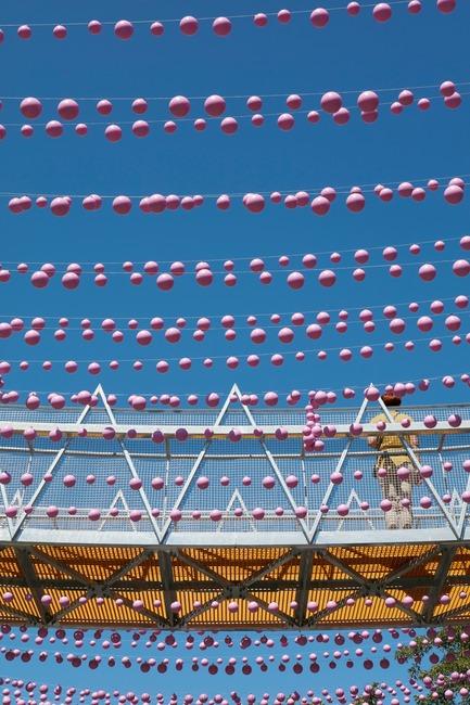 Dossier de presse | 1102-03 - Communiqué de presse | FunambOule - Architecturama - Design urbain - FunambOule, Montréal (Canada) - Crédit photo : James Brittain Photography