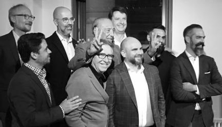 Dossier de presse | 952-22 - Communiqué de presse | Provencher_Roy et le groupe Havas concluent un partenariat stratégique et lancent La Maison W à Montréal - Provencher_Roy | Groupe Havas - Évènement + Exposition - Crédit photo : Provencher_Roy