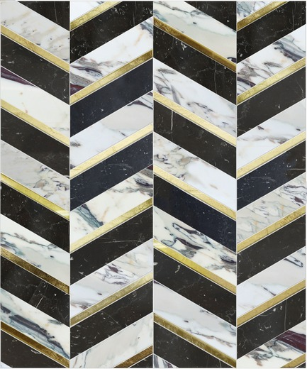 Press kit | 1650-02 - Press release | Launch of the Dominion Quick-Ship   Collection by Mosaïque Surface - Mosaïque Surface - Residential Interior Design -   OXFORD BLACK, DOMINION QUICK-SHIP COLLECTION   - Photo credit:  Mosaïque Surface