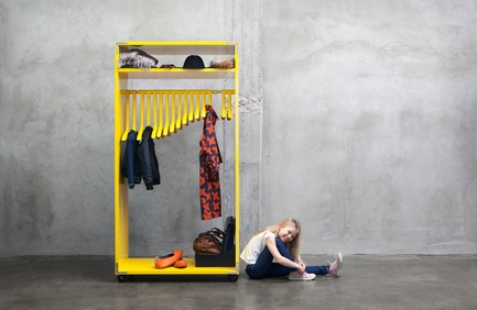 Press kit | 990-02 - Press release | KAYIWA Launches the Much-Anticipated3D Printed DINO Clothes Rack - KAYIWA - Product - DINO Module - Photo credit: Image courtesy of KAYIWA
