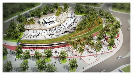 Press kit | 865-22 - Press release | Redécouvrez Lemay : 60 ans de conception visionnaire - Lemay - Event + Exhibition - Champ-de-Mars Park - Daniel Arbour & Associates Inc. now Lemay - Port-au-Prince, Haĩti, 2015 - Photo credit: Rendering - Daniel Arbour & Associates Inc. now Lemay