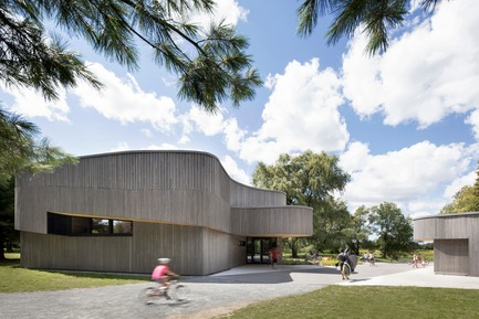 Press kit | 1117-03 - Press release | The Îles-de-Boucherville National Park Wins Several Architecture Prizes - Smith Vigeant architectes - Institutional Architecture - The hub - Photo credit: Adrien Williams