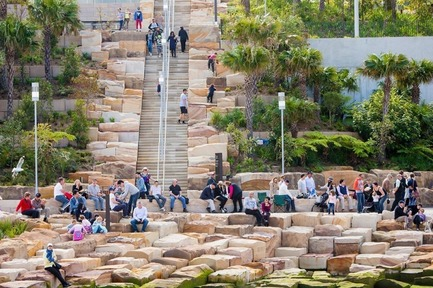 Press kit | 1968-07 - Press release | Winners of the 2017 Architecture MasterPrize Announced (formerly AAP) - Architecture MasterPrize - Commercial Architecture - Landscape Design of The Year: Barangaroo Reserve by PWP Landscape Architecture - Photo credit: PWP Landscape Architecture