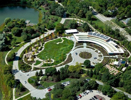 Press kit | 1968-07 - Press release | Winners of the 2017 Architecture MasterPrize Announced (formerly AAP) - Architecture MasterPrize - Commercial Architecture - The Regenstein Learning Campus - Chicago Botanic Garden - Photo credit: Mikyoung Kim Design